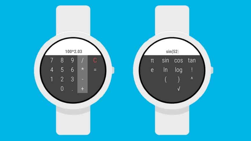 Calculator for Wear OS