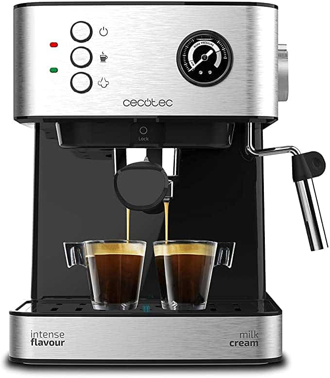 cafetera express power espresso 20 professionale cecotec